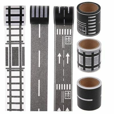 Originality Traffic Road Railway Scotch Tape Japanese Masking Washi Tape DIY