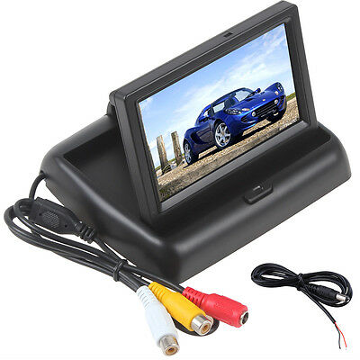 4.3Inch TFT LCD Color Screen Monitor for Car Rear View Reversing CCTV Camera DVD