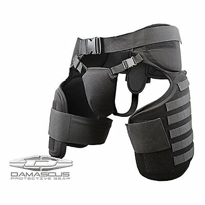 Damascus Protective Gear TG40 Imperial Thigh Groin Protector Black