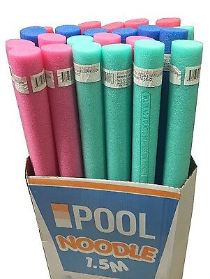 24 *PACK* 1.5M Pool Noodle Swimming Floating Foam Swim Noodles Water Float