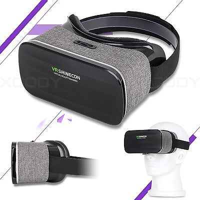 VR Shinecon Glasses 3D VR Box Headset Virtual Reality for Android Smartphone
