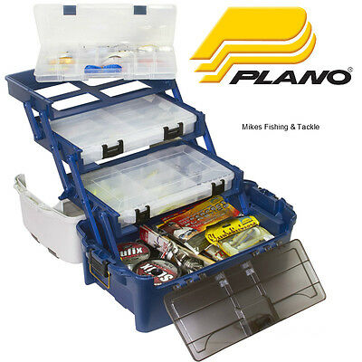 Plano 7233 Storage HYBRID Hip Tray Fishing Tackle Box Made in U.S.A.