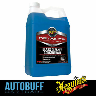Meguiars Glass Cleaner Concentrate, D12001, 3.8L (1Gal)