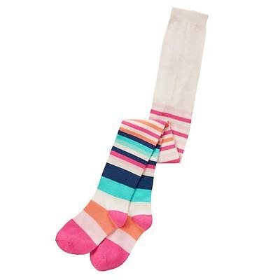 NWT Gymboree Enchanted Winter Baby Girls Striped Tights 12-24 Months