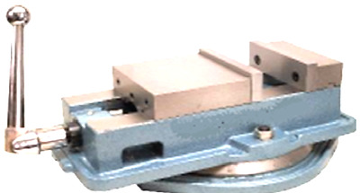 """Precision Milling Machine Vise 8"""" with swing base"""