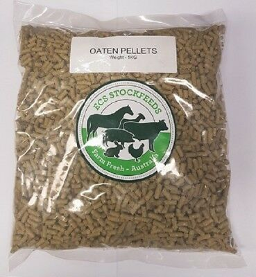 100% Oaten Pellets for Rabbits, Guinea Pigs & Small Animal Food 2kG