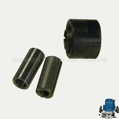 """Merry Tools HK Collet Chuck Reducer 1/2"""" To 1/4"""" & 3/8"""" For MAKITA 3612 Router"""
