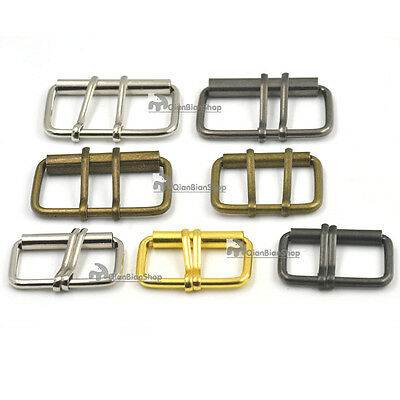 38mm 50mm Double Prong Roller Buckles For Belt Strap Bag Clasp DIY Webbing BBYY