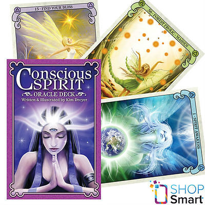 Conscious Spirit Deck Cards Oracle Esoteric Telling Kim Dreyer New