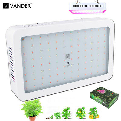 300W VollSpektrum LED Grow Light Medical Plants Blumen Bloom Gemüse Pflanzenlic