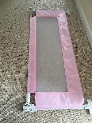Pink Child's Bed Guard