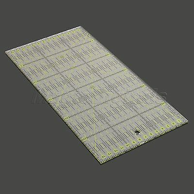 Sew-Easy Quilters Patchwork Ruler Sewing Quilting Cutting Tools Clear 30*15cm
