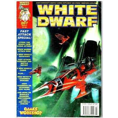 White Dwarf Magazine No 207 March  MBox2522 Vyper! The Deadly New Elder Jetbike