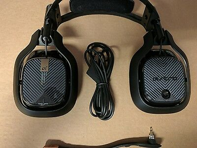 Astro A40 TR Gaming Headset in Black (PC) - Refurbished + free case