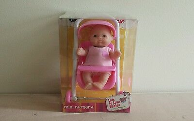 JC Toys Berenguer Lots to Love Babies Mini Nursery - Brand New