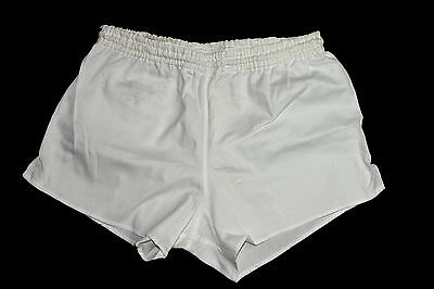 x1x2 Vintage Mens Shorts Running Sport Vintage Genuine Army Surplus WHITE S M L