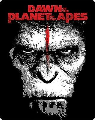 Used Dawn of the Planet of the Apes Limited Edition 3D 2D Blu-ray Steelbook BD