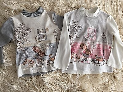 2x Mayoral Baby Girl Tops - 24mths