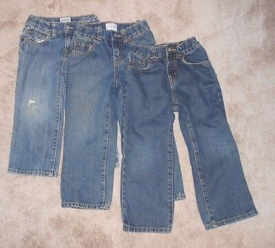Childrens Place 3T toddler blue jeans boys - 3 pairs Lot