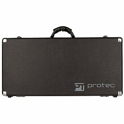 Protec Stonewood Pedalboard Large Redesigned! New Strong Bolted Hinges