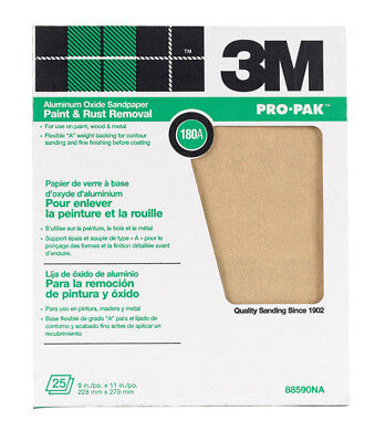 "3m Production Paper Sheets 180 A 9 "" X 11 """