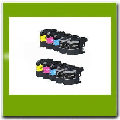 10Pk Non-Oem Brother Lc101 Lc103 Xl Ink Cartridge For Mfc-J450Dw J475Dw J4710Dw