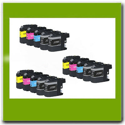 15Pk Non-Oem Brother Lc101 Lc103 Xl Ink Cartridge For Mfc-J450Dw J475Dw J4710Dw