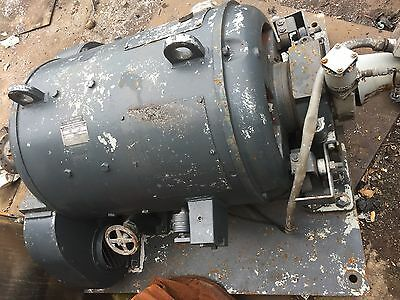75 HP 100 HP DC General Electric Motor, 1500/4500 RPM, 250 V, 270 A, Dynamometer