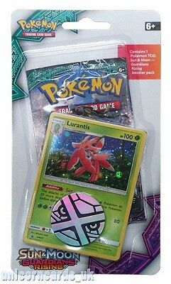 Pokemon Sun & Moon Guardians Rising Checklane Blister Pack: Lurantis SM25 Holo C