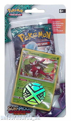 Pokemon Sun & Moon Guardians Rising Checklane Blister Pack: Tsareena SM26 Holo C