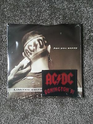 Ac/dc Are You Ready Ltd Edition Rare Vinyl Single With Donington Patch - Sealed
