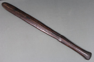 Antique Oceanian war club - Solomon Islands late 19th early 20th century