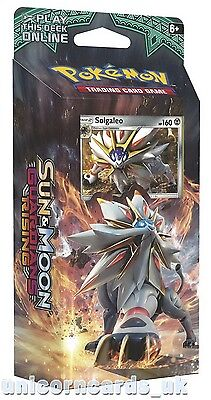 Pokemon TCG: Sun & Moon Guardians Rising Theme Deck :: Steel Sun + Solgaleo :: 6