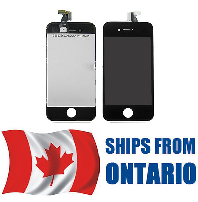 iPhone 4 Assembly Replacement LCD Screen Digitizer   BLACK        ONTARIO CANADA