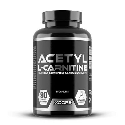 Acetil L-Carnitina 90 capsule - Xcore - Carnitines
