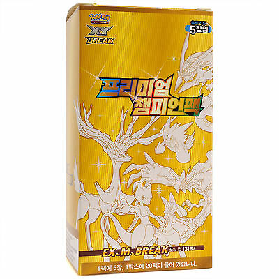 Pokémon TCG XY Premium Champion Pack Korean Booster 100 Cards Factory Sealed Box