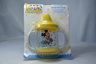 Disney Babies Toddler Sippy Cup Non Spill Beaker MICKEY MOUSE YELLOW New Other