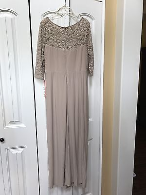 NWT Gown Or Mother Of Bride Dress  Size 12P