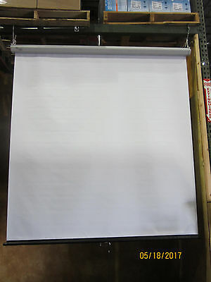 "Draper Luma Pull Down Screen Model 207003  70"" x  70"" New UNUSED in Box"