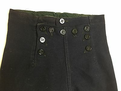 1910's - 40's  Vintage Boys Toddlers Childs Navy Admiral Sailor Pants