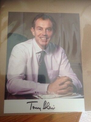 tony blair signed