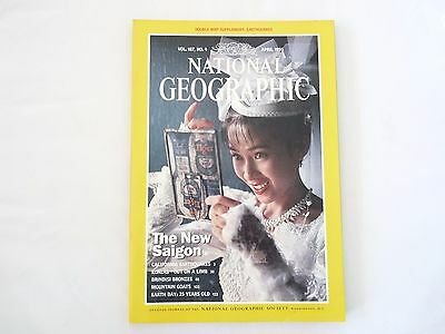 Revista National Geographic Ingles April 1995