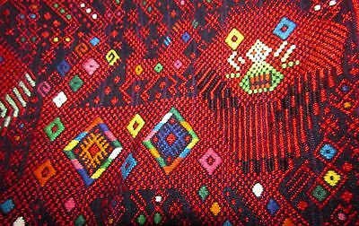 Guatemalan Huipil...Hand Woven, Hand Embroidered, 100% Cotton