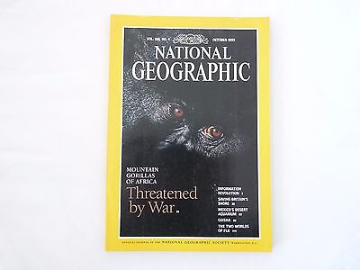Revista National Geographic Ingles October 1995