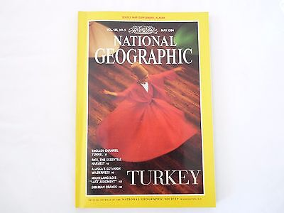 Revista National Geographic Ingles May 1994
