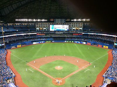 2 tickets Tampa Bay Rays @ Toronto Blue Jays June 13 Rogers Centre