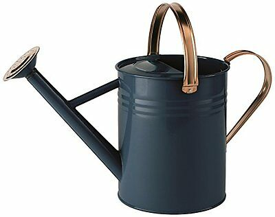 Vintage Style Metal Watering Can 4.5Litre Galvanised Steel Garden Flowers Plants