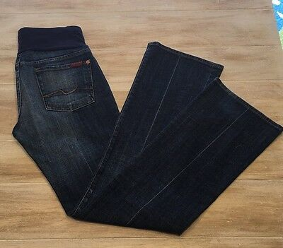 7 For All Mankind Maternity Jeans~Size 28