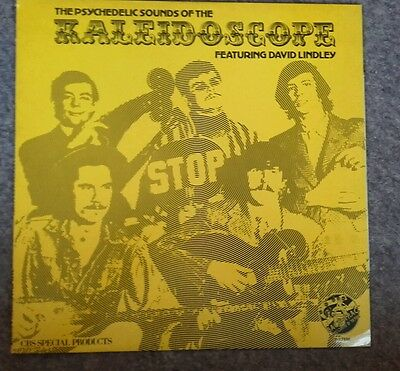 Kaleidoscope. The psyhedelic sounds of. Feat david lindley. Vinyl record lp.