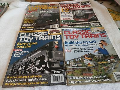 Classic Toy Trains Magazines/Lot 4/2003